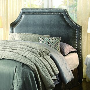 Lefkowitz Upholstered Panel Headboard by House of Hampton