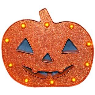 Penn Distributing Glitter Pumpkin Marquis