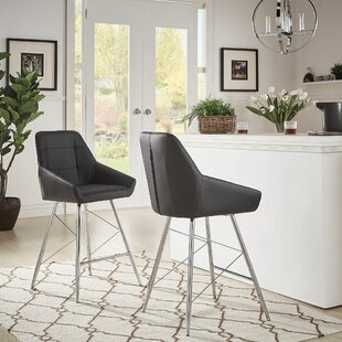 Lewallen 24.2 Bar Stool (Set of 2) by Orren Ellis