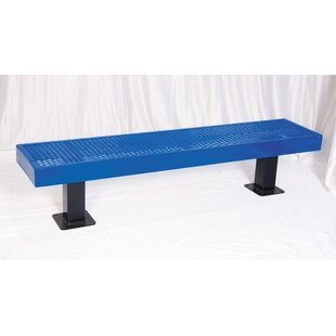 Metal and Plastic Picnic Bench