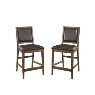 Whitacre 24 Bar Stool (Set of 2) Millwood Pines