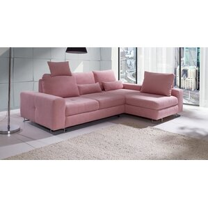 Karsten Corner Reversible Sleeper Sectional  sc 1 st  Wayfair : angled sofa sectional - Sectionals, Sofas & Couches