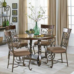 Merveilleux Goldenrod 5 Piece Dining Set