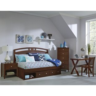 Bitting Arch Twin Daybed with Storage in Cherry by Kitsco