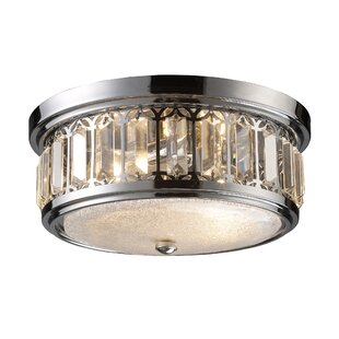 House of Hampton Emmer 2-Light Flush Mount