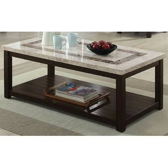 Darby Home Co Borquez Wheel Coffee Table With Storage Reviews Wayfair