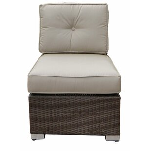 World Wide Wicker Tampa Armless Chair wit..