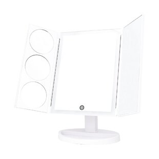 Great Price Ermera LED Oversize Cosmetic Makeup/Shaving Mirror By Rebrilliant