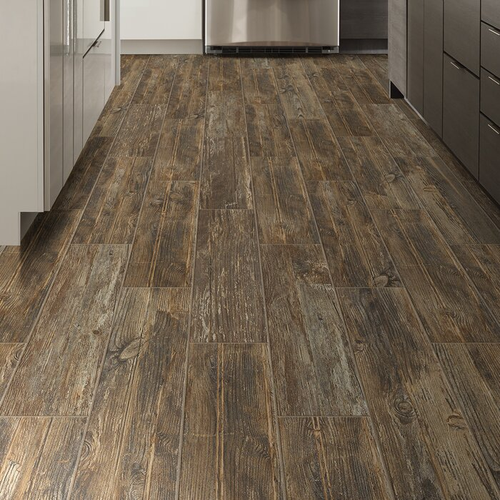 Tampico 7 X 24 Ceramic Wood Look Tile