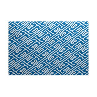 Hancock Blue Indoor/Outdoor Area Rug