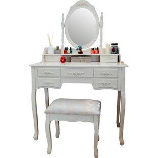 Ponticus Deluxe Vanity Set with Mirror