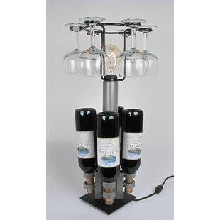 4 Bottle Tabletop Wine Rack by Metrotex D..