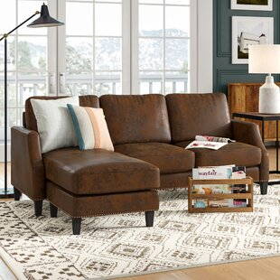 Price comparison Edenburg Reversible Sectional by Laurel Foundry Modern Farmhouse Reviews (2019) & Buyer's Guide
