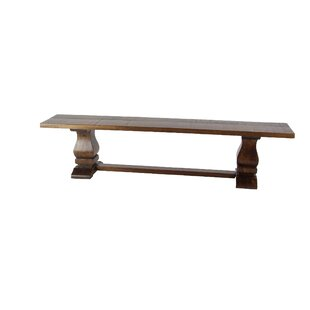 Chelsey Wood Bench by Union Rustic
