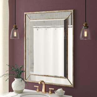 Reviews Maybery Rectangle Vertical Bathroom / Vanity Wall Mirror By Greyleigh