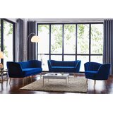 Navy Blue Sofa Set   Wayfair