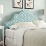 Cha Arched King Upholstered Panel Headboard by Winston Porter