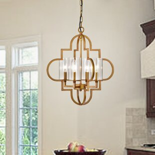 Bitting 4-Light Schoolhouse Pendant by Mercer41