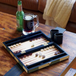 Checkered Backgammon Set By Birch Lane™
