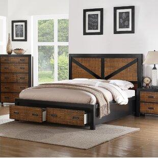 Waseca Storage Platform Bed by Gracie Oaks