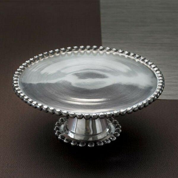 Crystal Bead Cake Plate Wayfair