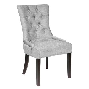 Cronk Contemporary Upholstered Dining Chair Reviews