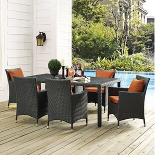 Brayden Studio Tripp 7 Piece Dining Set