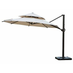 Red Barrel Studio Azaiah Patio Offset Hanging 11.5' Cantilever Umbrella