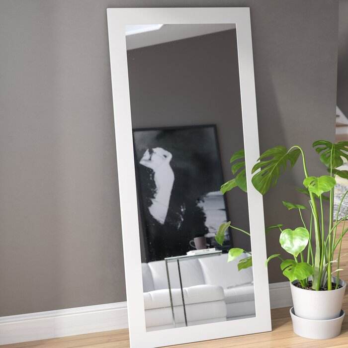 TinyTimes 18×63 Large Full Length Floor Mirror Rounded ...