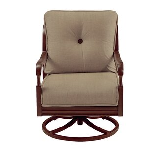 Bade Lounge Swivel Chair with Cushions (Set of 2)