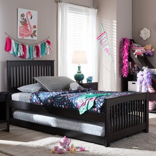 Compare prices Perkinson Twin Platform Bed by Harriet Bee Reviews (2019) & Buyer's Guide