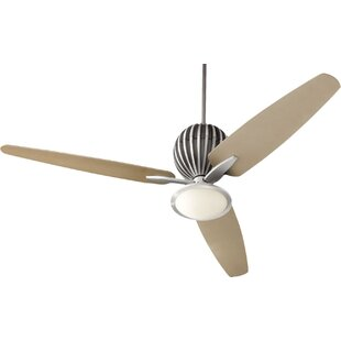 Best Reviews 60 Ashmore 3-Blade Ceiling Fan By Andover Mills