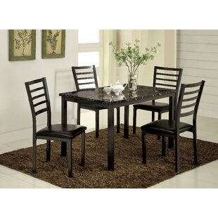 Hartzler 5 Piece Dining Set