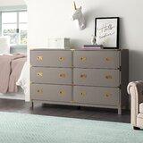 Dania 6 Drawer Double Dresser by Birch Lane™