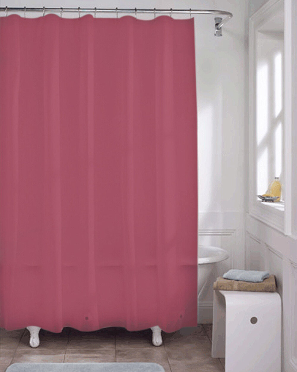 Red Solid Shower Curtains Shower Liners You Ll Love In 2021 Wayfair
