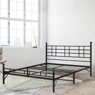 Darrel Model H Platform Bed by White Noise
