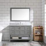 Artane 48 Single Bathroom Vanity Set with Mirror by Red Barrel Studio