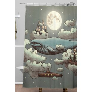 Ocean Meet Single Shower Curtain