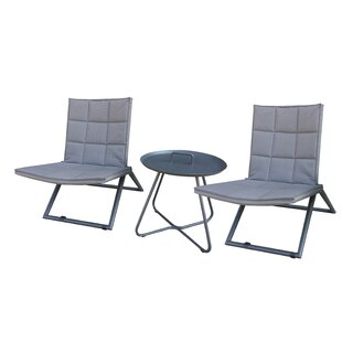 Sunset 3 Piece Bistro Set by Zipcode Design Spacial Price