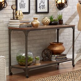 console sofa tables - Furniture In Living Room
