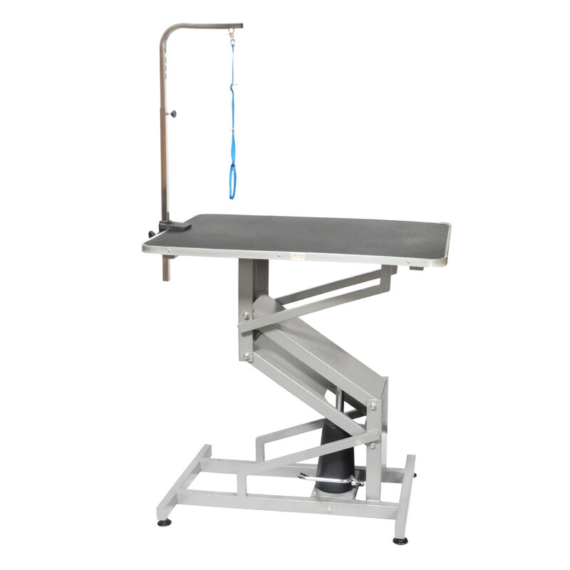 Z Lift Hydraulic Professional Dog Grooming Table With Arm