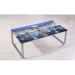 Ebern Designs Shelia Scene Decor Coffee Table