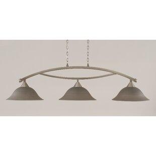 Blankenship 3-Light Billiard Light by Fleur De Lis Living
