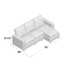 Latitude Run Andrey Storage Reclining Sectional