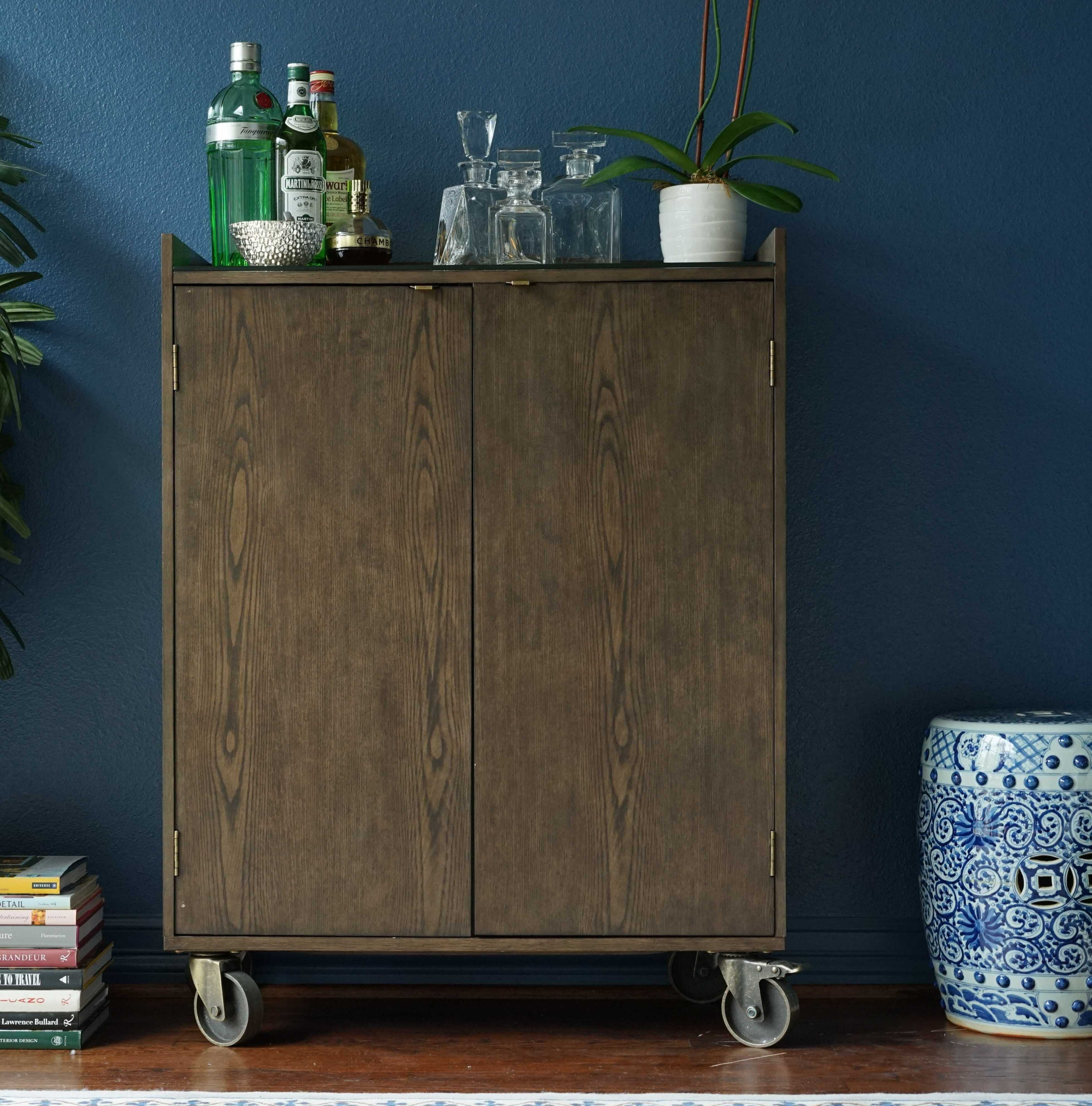 Hunedoara Bar Cart By 17 Stories