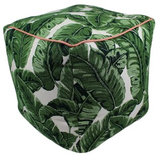 Bay Isle Home Dugan Tropics Jungle Pouf O..