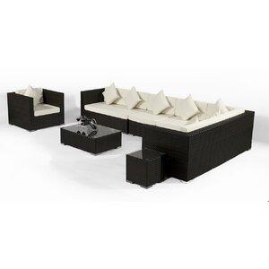 7-tlg. Sofa-Set mit Kissen von IHP24