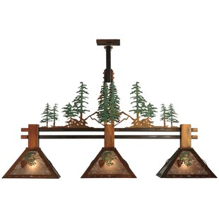 Meyda Tiffany Winter Pine Tall Pines 3-Li..