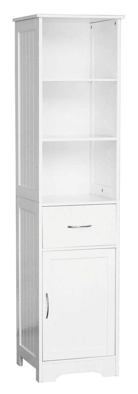 40 X 160cm Free Standing Tall Bathroom Cabinet Idea