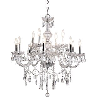 House of Hampton Glynda 12-Light Candle S..